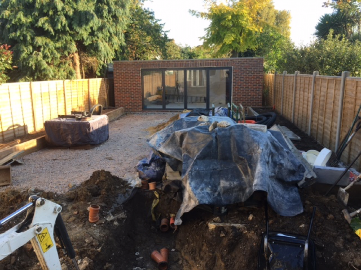 Extension in Sidcup